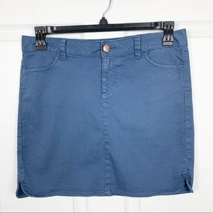 Tommy Hilfiger Blue Mini Skirt Size 4